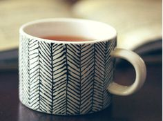 hand painted mugs | a subtle revelry