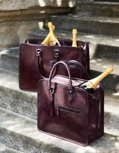 Luxurious travel bags with a twist of history