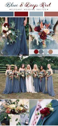 Winter wedding color combos #weddingthemes weddings #weddingcolors #weddingideas #springwedding