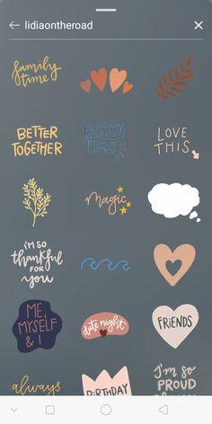 Instagram Emoji, Iphone Instagram, Instagram And Snapchat, Instagram Blog, Instagram Story Ideas, Instagram Quotes, Instagram Editing Apps, Creative Instagram Photo Ideas, Sticker
