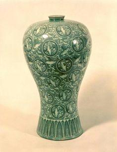 Goryeo Celadon 12 век из национальной сокровищницы Кореи