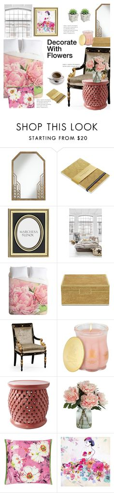 """Decorate With Flowers"" by janephoto ❤ liked on Polyvore featuring interior, interiors, interior design, home, home decor, interior decorating, Pacific Coast, Christian Lacroix, Lenox and ASUS"