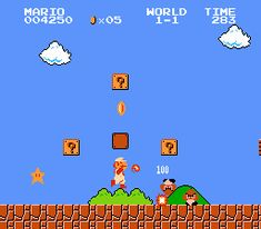 Super Mario Bros is an engrossing game about an Italian plumber who goes around trying to save a princess from a monster called Bowser while dodging enemies and exploring to collect coins.