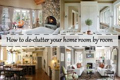 How to de-clutter your home room by room