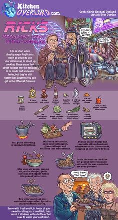 Kitchen Overlord Blade Runner Illustrated Recipe