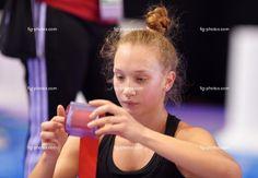 Patricia Bezzubenko, Canada, training before World Championships Izmir 2014