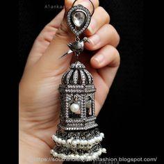 German Silver jewelry Metals - - Silver jewelry Diamond - Silver jewelry Outfit - - Silver jewelry For Prom Bling Indian Jewelry Earrings, Indian Jewelry Sets, Jewelry Design Earrings, Silver Jewellery Indian, Silver Jewelry, Silver Rings, Jhumkas Earrings, Ethnic Jewelry, Jewelry Accessories