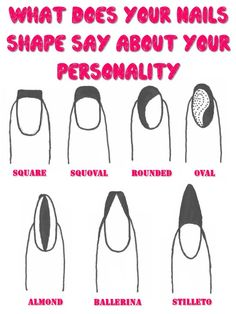 What does your Nails Shape say about your Personality ==