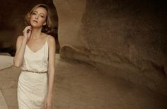 Silk slip wedding dress from Limor Rosen