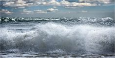 Wave Seascape by Bob Tabor Printed on Archival Paper, Museum Quality Framing Framed with 0.25