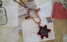 Check out this item in my Etsy shop https://www.etsy.com/listing/228158965/industrial-chic-pendant-necklacerustic