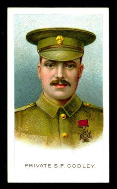 """Wills's Cigarettes """"Victoria Cross Heroes"""" (series of 25 issued in Australia, Lance Corporal Fuller, Batt Welsh Regiment. World War One, First World, British Medals, George Cross, Lance Corporal, Pin Up Posters, Collectible Cards, Military Art, Military Uniforms"""