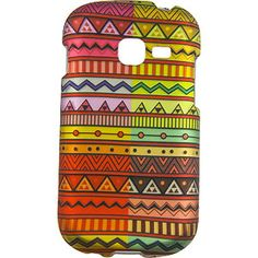 Geometric Aztec Protector Case for Samsung Galaxy Centura S738C & Discover S730G