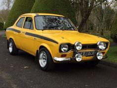 This 1971 ford escort mk 1 mexico daytona yellow rs is for sale. This 1971 ford escort mk 1 mexico daytona yellow rs is for sale. Escort Mk1, Ford Escort, Ford Rs, Car Ford, Ford Capri, Ford Classic Cars, Classic Sports Cars, Ford Motor Company, Retro Cars