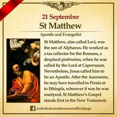 St. Matthew the Apostle