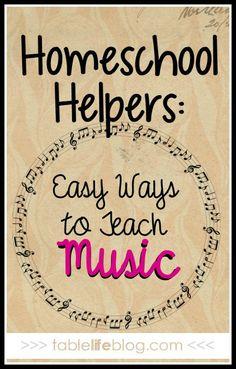 Online middle school Homeschool Helpers: Easy Ways to Teach Music Kindergarten Music, Preschool Music, Music Activities, Teaching Music, Homeschool Curriculum, Homeschooling, Elementary Music, Music For Kids, Music Classroom