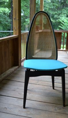 Mid Century Modern Vintage Stakmore Wood Folding Chair By PanchosPorch