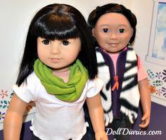 Doll Play – Four Easy No-Sew Scarf Ideas for Dolls