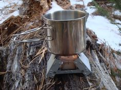 GSI Outdoors Glacier Stainless Bottle Cup/Pot- just picked me up a couple of these at Dick's - they are awesome!