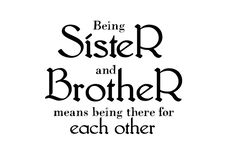 Inspired Mommie Designs: Being Sister and Brother- Wordart Freebie