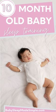 Your 10 month old isn't sleeping? This article will help. It's got the best sleep training tips to get your baby sleeping through the night! Usually, the 10 month old sleep regression can make your baby's sleep get temporarily worse. We've got survival tips for the regression, as well, don't worry! Get your baby sleeping through the night with these easy tips, today! #babysleepschedule #babysleeptraining #sleeptraining #10montholdbaby #babysleepregression #babysleeptips #sleeptips #babytips Help Baby Sleep, Good Sleep, Baby Sleep Regression, Baby Sleep Schedule, 10 Month Olds, Young Baby, Sleeping Through The Night, Bedtime Routine, Sleep Sacks