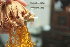 Atelie Cantinho DA ARTE: COMO CACHEAR OS CABELOS DE BONECA COM GEL                                                                                                                                                      Mais