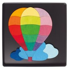 Magnetspiel Heißluftballon