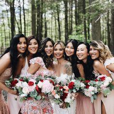 Photography: nicoleleever.com Love Photography, Wedding Photography, Pastel Makeup, Beauty Lounge, New York Wedding, Bridesmaid Dresses, Wedding Dresses, Wedding Make Up, Peace And Love