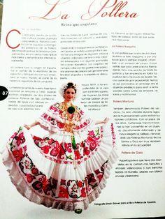 La hermosa pollera Panameña..♥♥