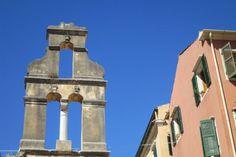 Corfu Town, Corfu Island, Greece Corfu Town, Corfu Island, Corfu Greece, Beautiful Islands, Notre Dame, Countryside, Hiking, City, Travel