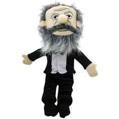 Karl Marx Soft Toy A Little Thinker from The Unemployed Philosophers Guild A cuddly representation of one of the most influential figures