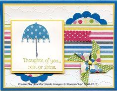 Sunflower Stamper: Rain or Shine Royalty