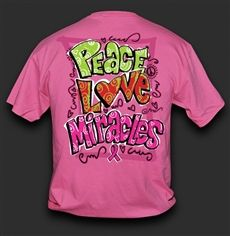 Peace Love Miracles Available online www.sweetthingstore.com