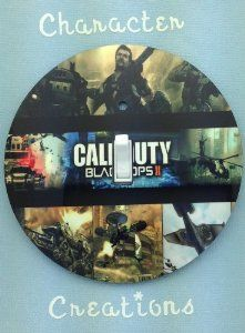 CALL OF DUTY BLACK OPS 2 Collage Light switch Cover 5 Inch Round (12.5 cms) Switch plate Switchplate by Character Creations. $12.00. NOT a Sticker.  Image is heat sealed into the switchplate, therefore is completely washable.. Large 5 inches (12.5 cms) Lightswitch Cover. Beautifully finishes off any room. Call of Duty Black Ops 2 Design. Hardboard with Beautiful Glossy Finish. This is a fantastic addition to any bedroom, recroom or office and is made from hardbo...