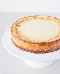 Cheesecake met Bastogne Koekjes Bodem