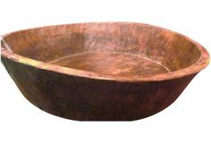 Large handmade vintage bowl from Morocco