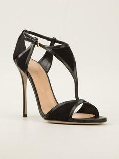 Love this: Geometric Panel Sandals @Lyst