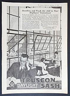 Truscon Daylight Sash Ad