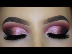 Rose Gold Smokey Eyes Makeup Tutorial - YouTube