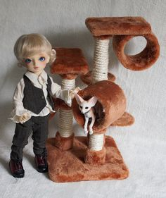 Cat Trees by Stephanie Meier Cat Trees, Bjd, Profile, Teddy Bear, Dolls, Facebook, Pets, Animals, User Profile