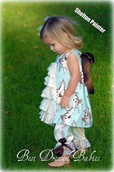 Easter Dress and Pantaloon 6m24m by amandamiller6298 on Etsy, $80.00