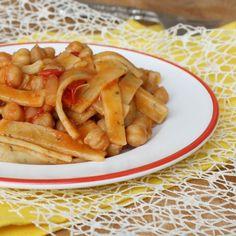 SCIALATIELLI RICETTA CON CECI AL POMODORO ricetta pasta tipica