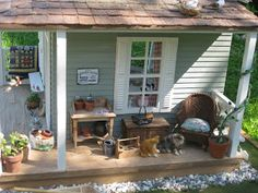 miniatyrmama: The Porch at Liza´s Cottage
