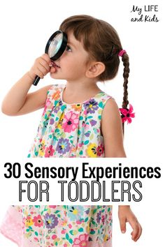 30 Sensory Experiences for Toddlers