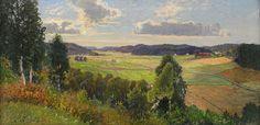 Swedish Landscape Painter Anton Genberg (1862-1939) ~ Blog of an Art Admirer
