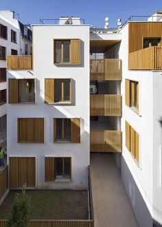 Passage de la Brie Housing by Explorations Architecture