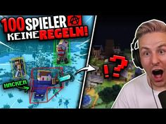 ES ist UNGLAUBLICH was 100 SPIELER (mit HACKS!!) und OHNE Regeln in EINER WOCHE gemacht haben! - YouTube Minecraft Server, Glitch, Xbox One, Hacks, Youtube, Top, Youtubers, Crop Shirt, Shirts
