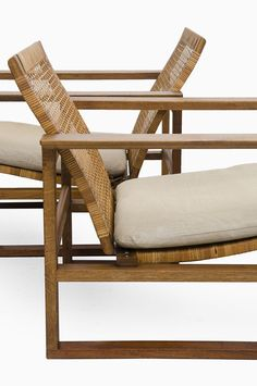 scandinaviancollectors: Børge Mogensen 2256 Sled Easy Chair, 1928. Produced by Fredericia Stolefabrik, Denmark. / Studio Schalling