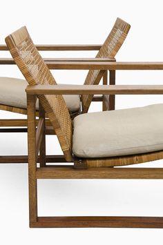 scandinaviancollectors: Børge Mogensen 2256 Sled Easy Chair, 1928. Produced by Fredericia Stolefabrik, Denmark. / Studio Schalling