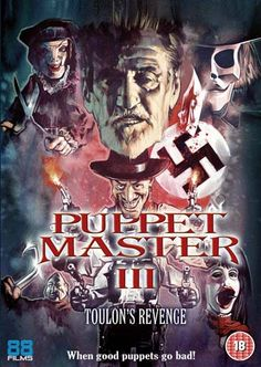 Film News: 88 Films Releasing Puppet Master 2 and Puppet Master 3 on DVD & Blu-ray for Halloween